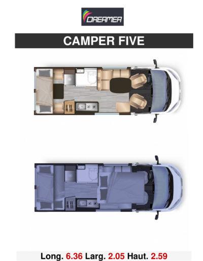 CAMPER FIVE. MODELE 2020_p002