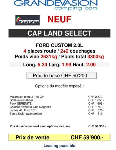 CAP LAND SELECT-modele 2020_p001