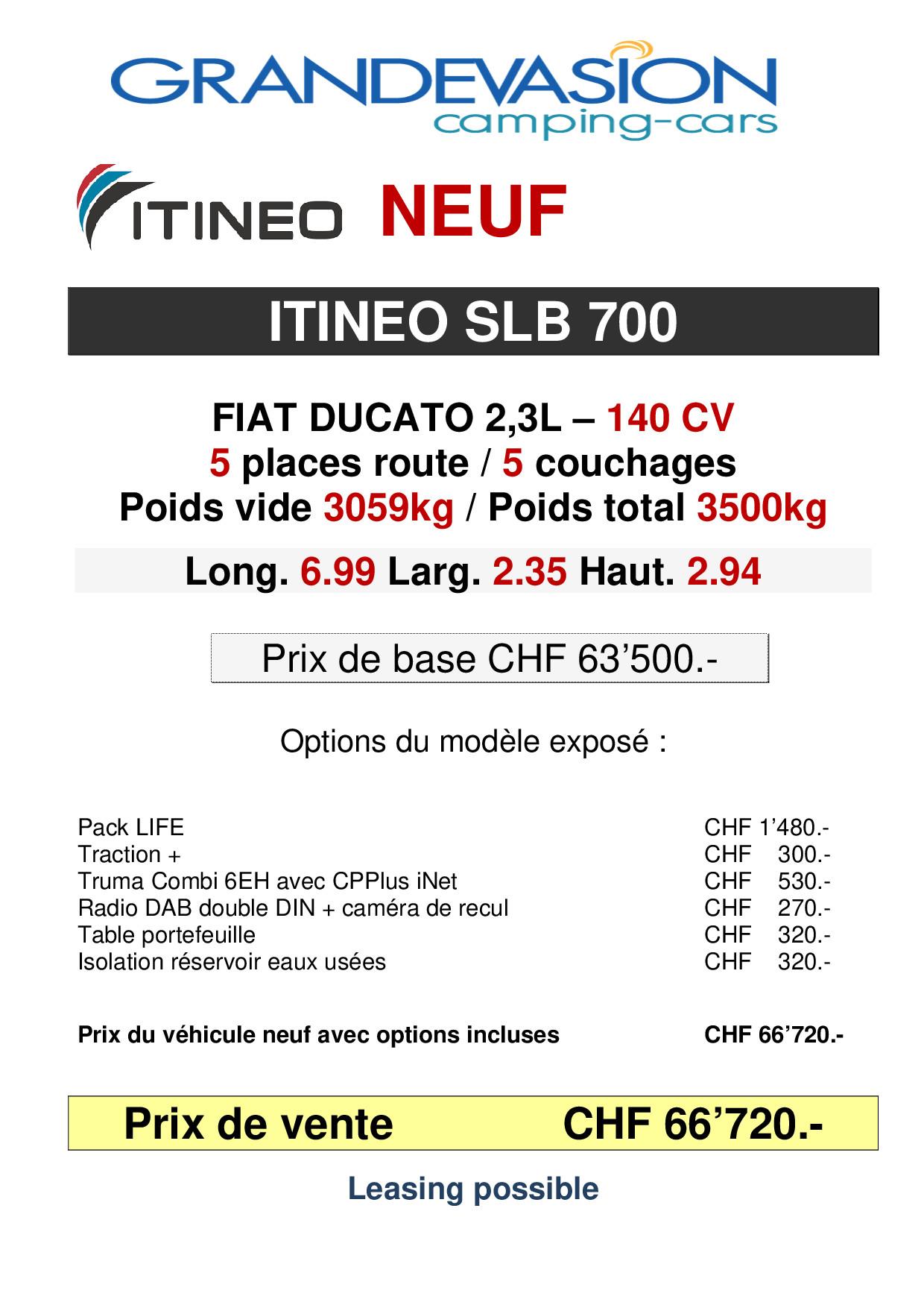 ITINEO SLB700 - MODELE 2020_p001